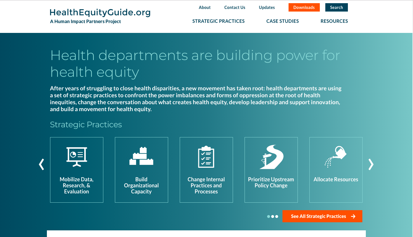 Health Equity Guide Community Commons